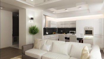 100 примеров дизайна кухни-гостиной: 10 советов от дизайнеров