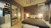20 вариантов размещения гардеробной в спальни: варианты дизайна