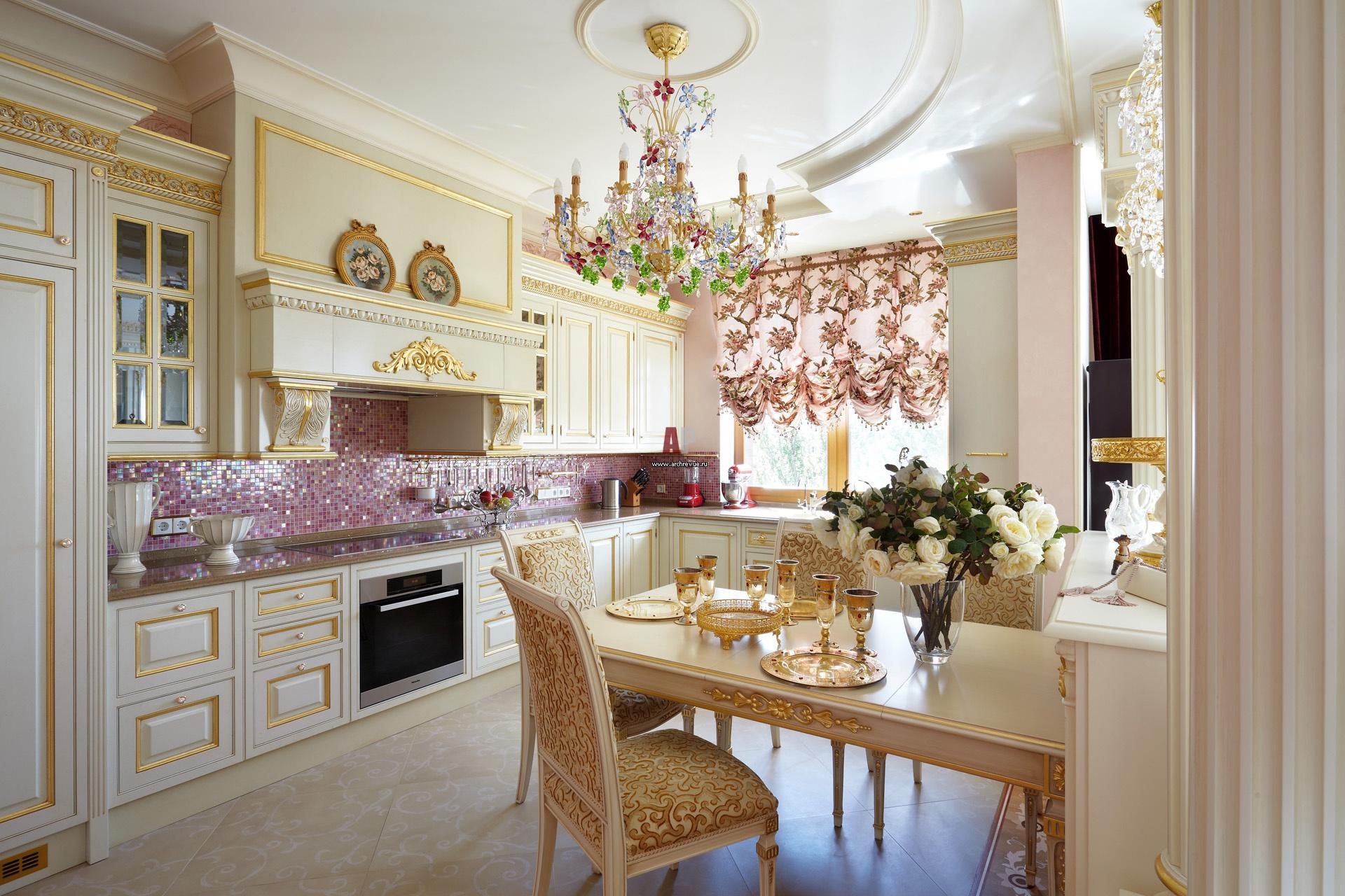 Красивые классические кухни фото