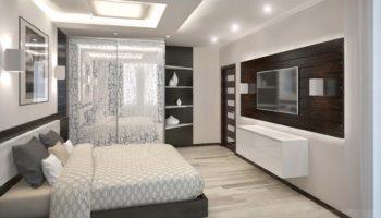 100 вариантов современного дизайна потолка в спальне