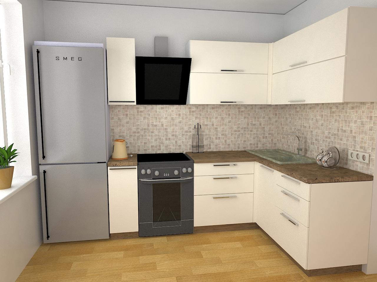 кухня с правым углом фото этом случае наросты
