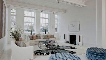 Интерьер гостиной в белых тонах: 55 вариантов дизайна