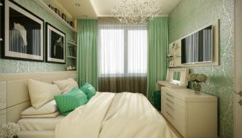 Интерьер маленькой спальни: ТОП-100 фото-идей