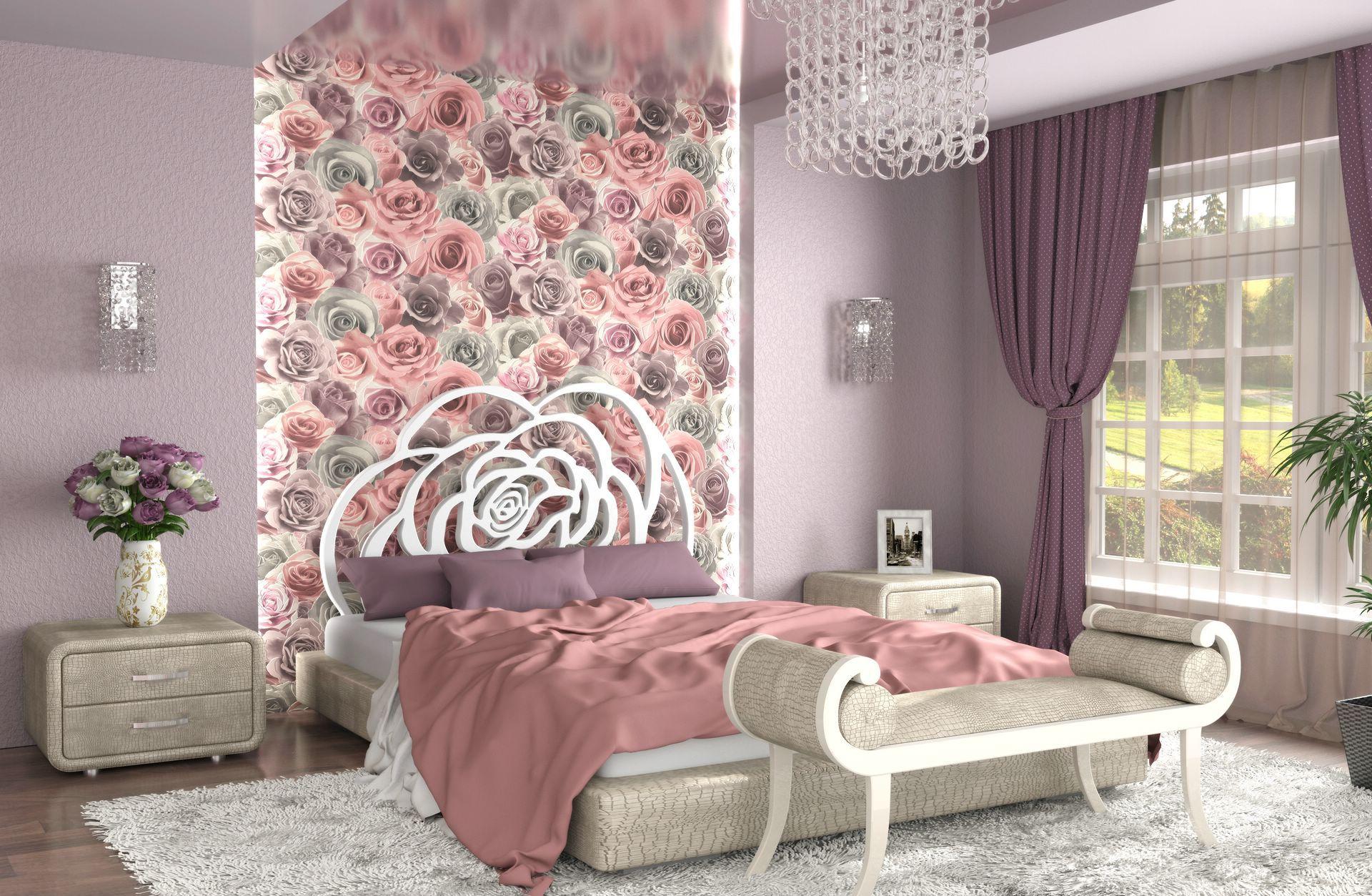сожалению, обои для спальни с крупными цветами фото ташков