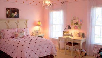 Комната для девочки: выбор цветовой палитры и мебели