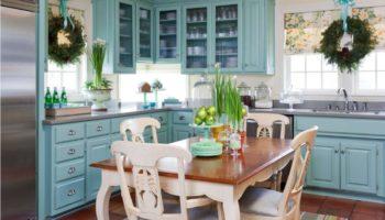 Кухня в голубых тонах: цветовые сочетания и советы по декору