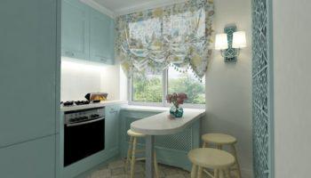 Малогабаритная кухня: 100 фото оформления маленькой кухни