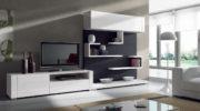 Современные модульные стенки для гостиной: особенности и преимущества.