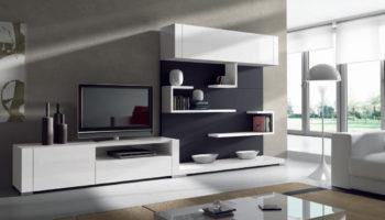 Современные модульные стенки для гостиной: особенности и преимущества