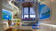 Морской дизайн для детской комнаты: цветовые решения и выбор мебели