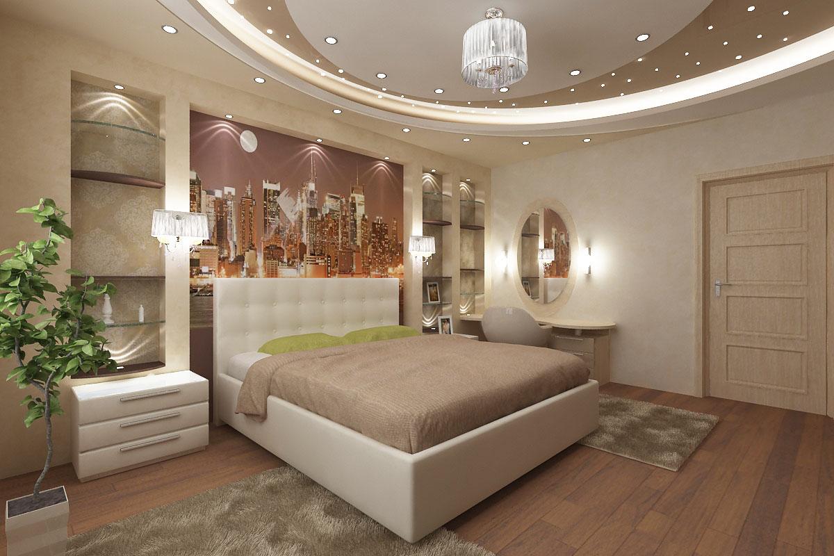 фото удачных дизайнов спален ягодные оттенки, матовый