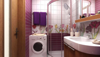 Новая ванная комната в хрущевке: как сделать красивую перепланировку
