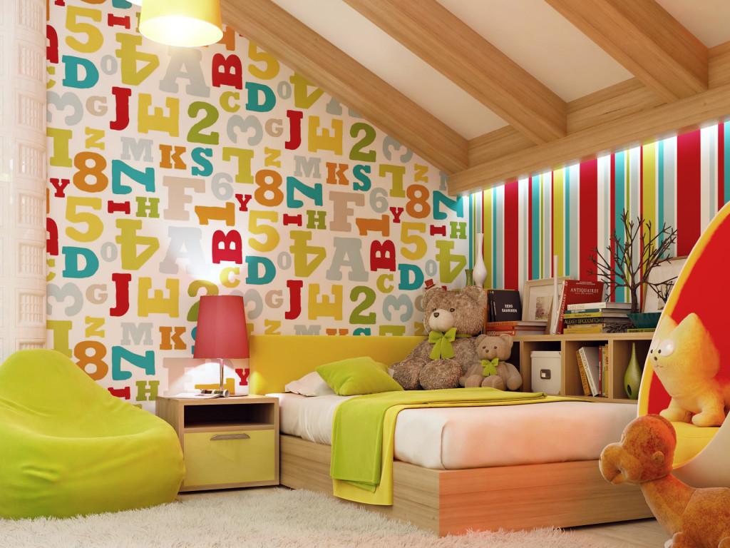 Обои для детской комнаты 2020: как правильно выбрать? | 768x1024