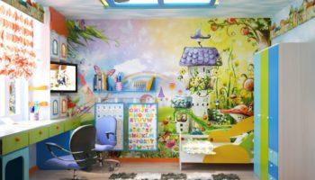 100 вариантов оформления потолка в детской комнате