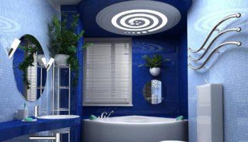 Какой потолок лучше подойдет для ванной комнаты