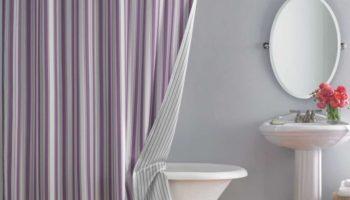120 фото идей штор для ванной 2021 года