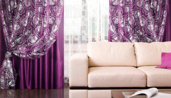 Модные тенденции и новинки штор в гостиную