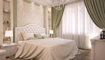 Идеи оформления спальни в светлых тонах