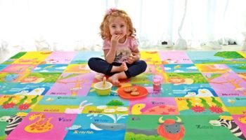 Детский коврик: виды игровых и обучающих ковриков