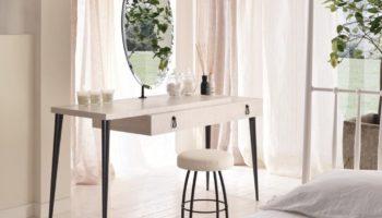 Дизайн туалетных столиков для спальни: 100 фото вариантов