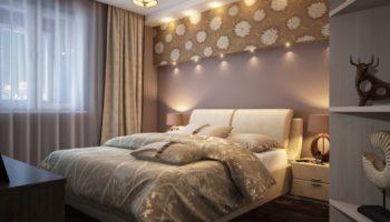 Интерьер маленькой спальни 12 кв. м: выбор стиля и идеи по подбору мебели и зонированию