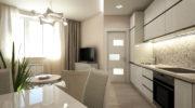 8 видов потолков для кухни