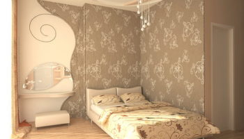 Красивые обои в спальню: виды и способы комбинирования