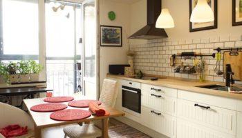 Кухня без верхних шкафов: 100 фото-идей по созданию стильной кухни