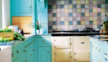 Кухня в бирюзовых тонах: фото интерьеров и удачные сочетания цветов