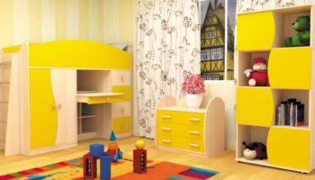 Мебель для детской: стильные варианты дизайна детской комнаты