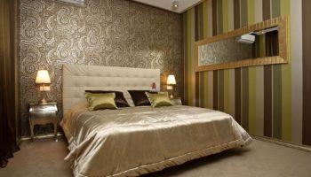 Обои для спальни: советы от дизайнеров