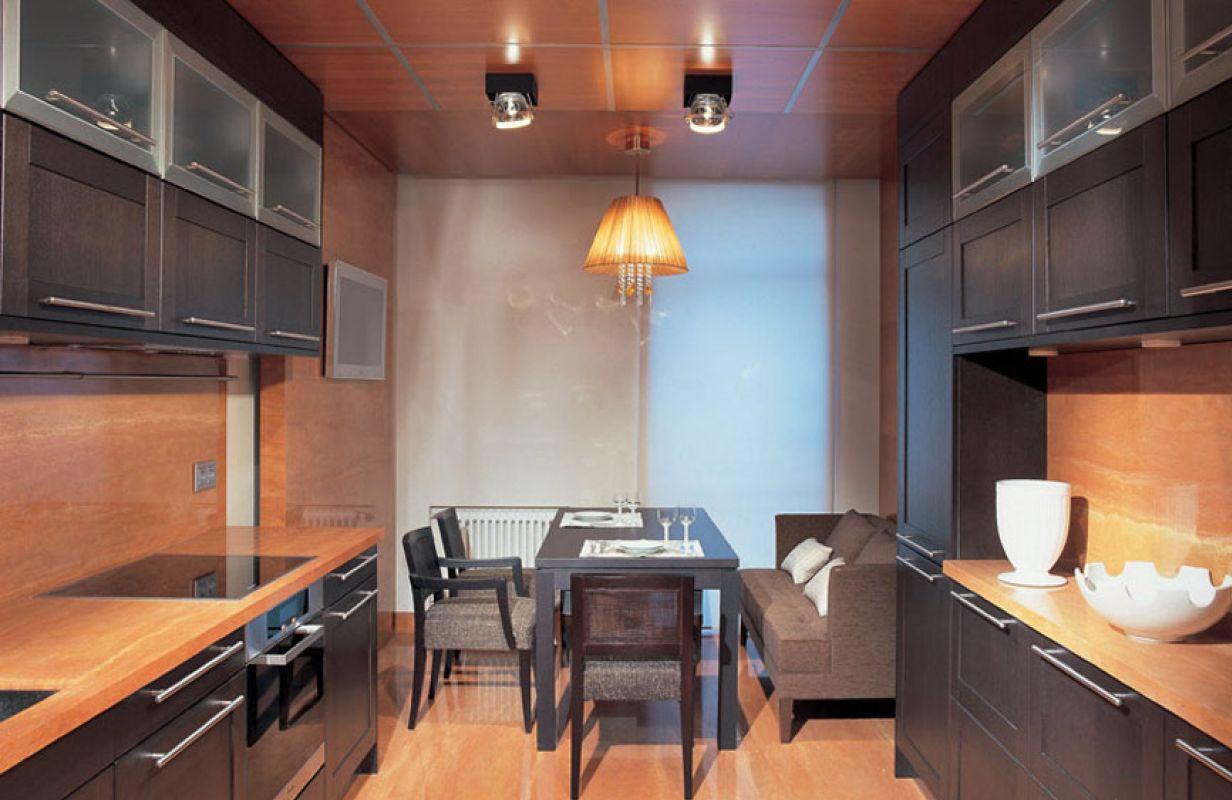 том, фото кухни с двух сторон этим она